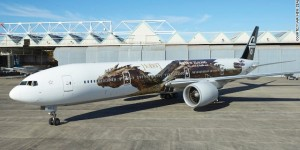 Air New Zealand Smaug the dragon livery