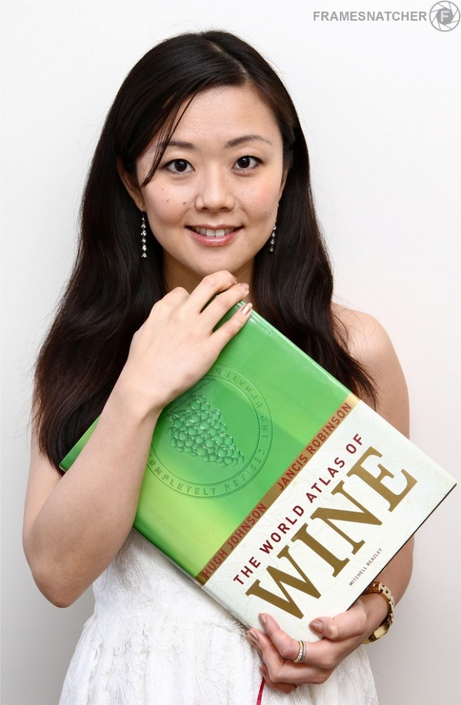 Alice Hama, Sommelier at Crustacean Beverly Hills, CA