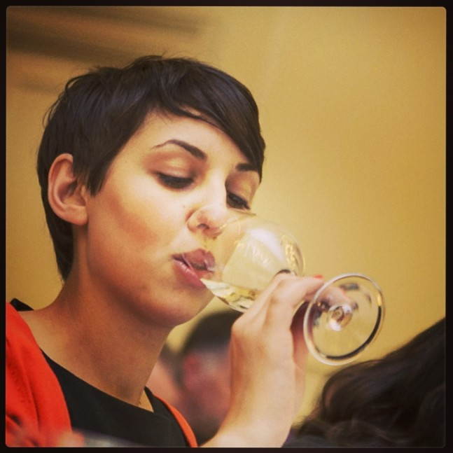 Amanda Bulgin, Sommelier at Restaurant focus, Park Hotel Vitznau