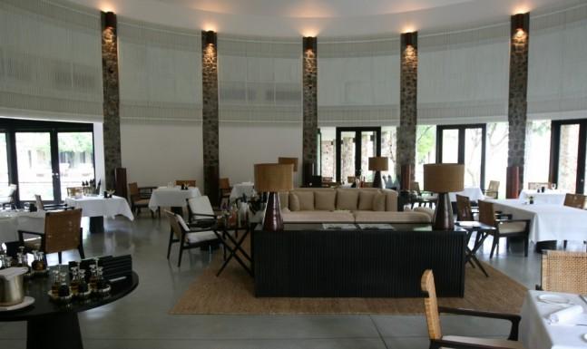 Amansara dining room