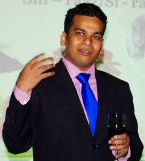 Amit Chavan, Sommelier at Hakkasan Doha at The St. Regis Resort, Doha