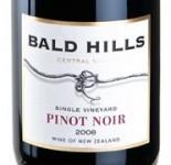 Bald Hills Pinot Noir 2008