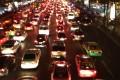 Bangkok traffic grind