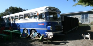 Bus Stop Takeaway Cafe, Te Horo Beach, 1 hour north Wellington, North Island, Middle Earth