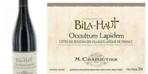 M. Chapoutier Domaine de Bila-Haut Cotes du Roussillon Villages Latour de France Occultum Lapidem