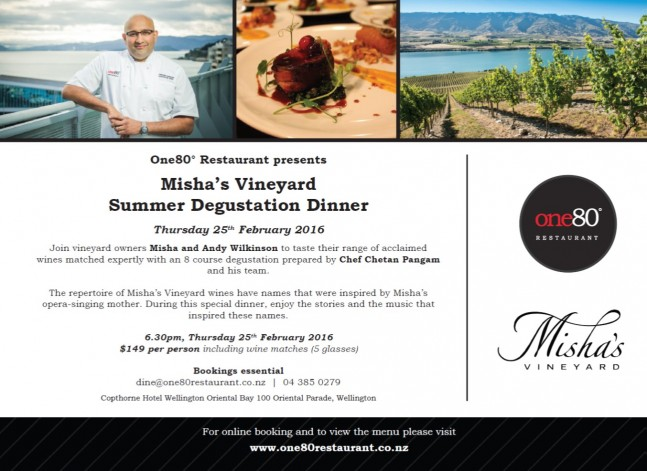 Copthorne Wellington_Misha's Vineyard Dinner_25 Feb 2016