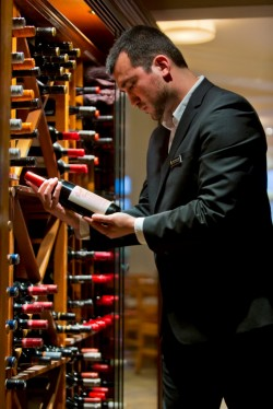 David Stevens-Castro, Maitre D' & Sommelier at the Intercontinental Sanctuary Cove Resort