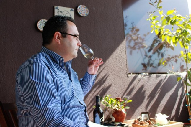 Sommelier Enrique Ávila Hernández from Barcelona, Spain