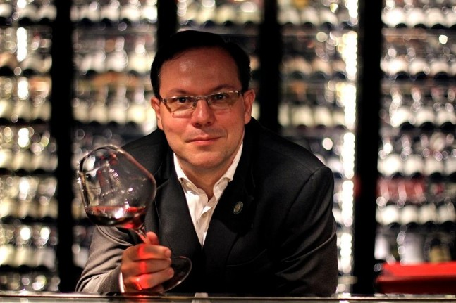 Fabien Duboueix CSW CSS - Sommelier at Joël Robuchon Resorts World Sentosa, Singapore