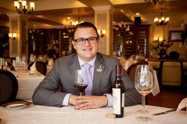 Fabien Jacob, Sommelier at Bohanan's Prime Steaks and Seafood, San Antonio