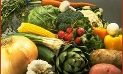 Farmer market vegetables
