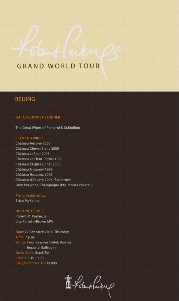 Grand Tour Beijing