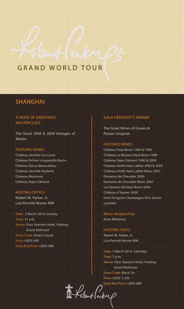 Grand Tour Shanghai
