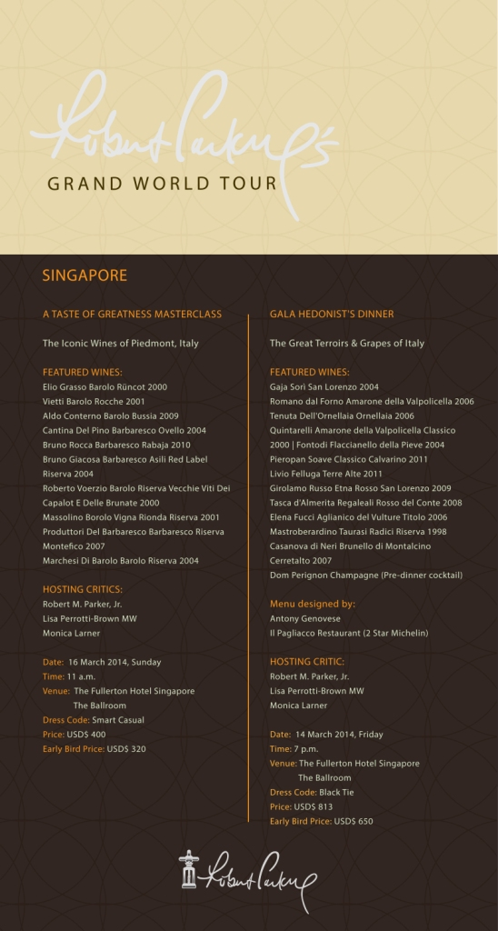 Grand Tour Singapore