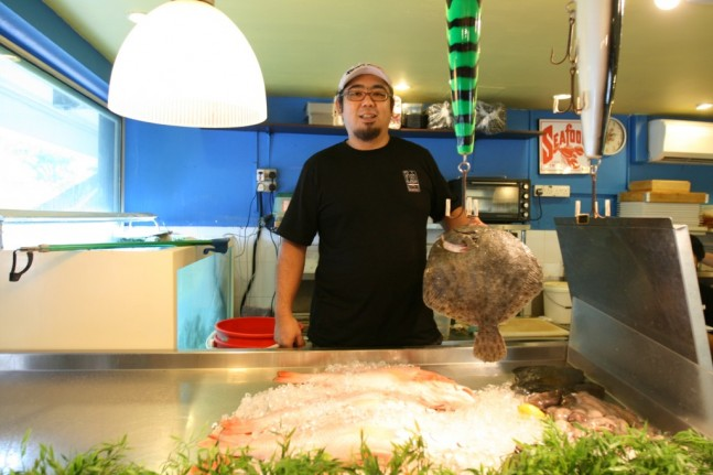 Big Thanks to our Greenwood Fish Market Chef Alan Lee