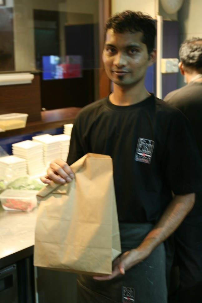 Takeaway Fish n Chips Singapore style