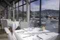 Martin Bosley's Yacht Club Restaurant with a view