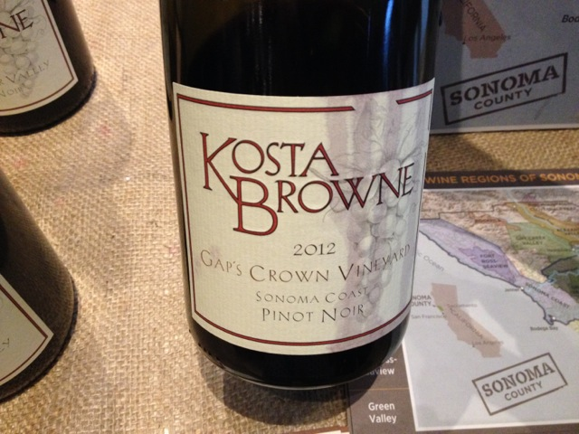 Mike K - Kosta Browne bottle