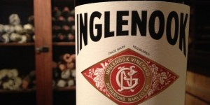 Mike K - Napa Inglenook bottle