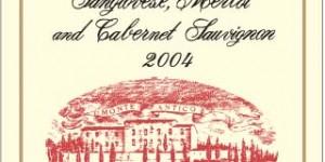 Monte Antico label