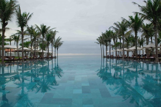 One of the pools at The Nam Hai, Hoi An, Vietnam