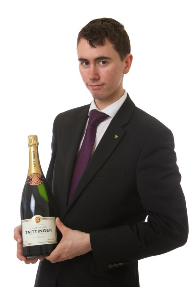 Oscar Malek, Head Sommelier and Wine Buyer at Chewton Glen Hotel & Spa in Hampshire, South of England - Photo By www.matthardyphotography.co.uk