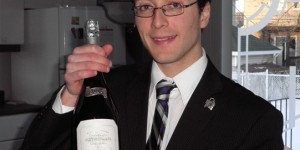 Sommelier Philippe Perreault from Montreal, Canada