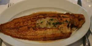 Rick Stein - Whole Dover Sole meunière with noisette butter