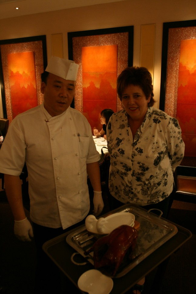 Ruth Pretty - at Imperial Treasure Super Peking Duck