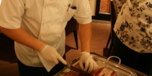 Carving Peking Duck
