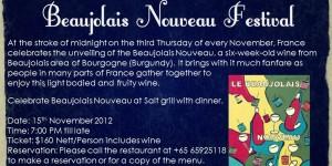 Salt grill beaujolais nouveau 2
