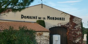The tasting room at Domaine de la Mordoree