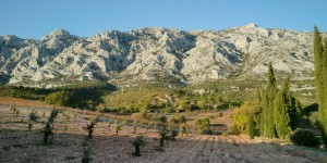 At the base of Sainte-Victoire at Domaine de Saint-Ser