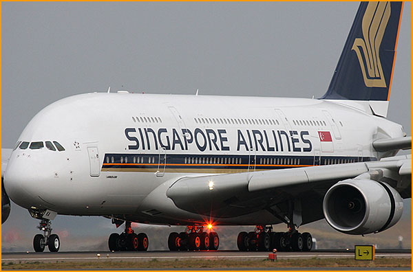 singapore airlines flight