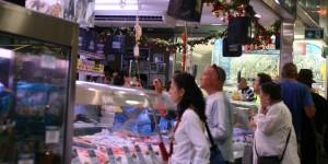 South Melbourne Market Fishmonger
