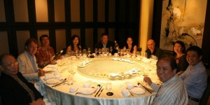 Steven Spurriers 70th celebration at Imperial Treasure Super Peking Duck