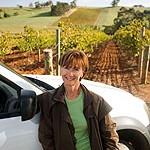Stephanie Toole - Proprietor Vigneron of Mount Horrocks vineyard
