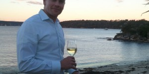 The Bathers Pavilion, Balmoral Beach Sommelier Sean Boyle - Must be hard working with that sort of view