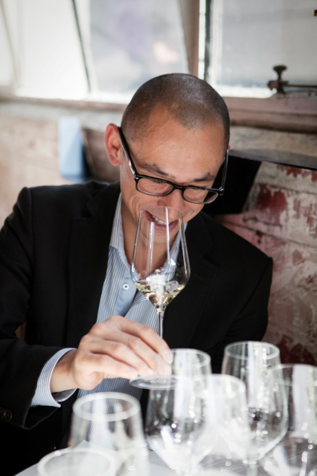 Tim Sacklin, Sommelier at Rosetta, Melbourne, Australia