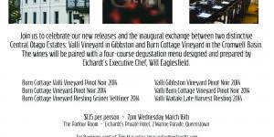 Valli & Burn Cottage Eichardt's Dinner