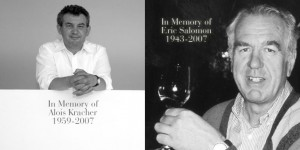 In Memory of Alois Kracher and Eric Salomon