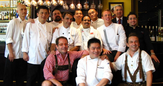 Austrian Wine Festival Singapore press lunch chefs