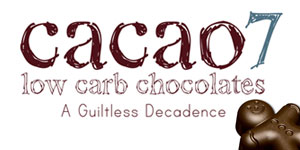 Cacao 7, low card chocolates