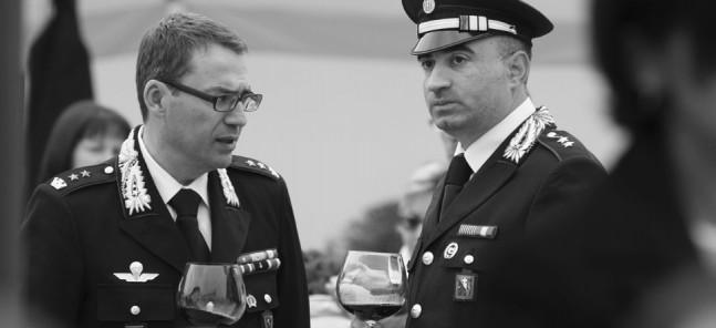 Italy Carabinieri sampling Barolo Wines