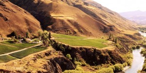 Chard Farm Vineyard, Gibbston Valley, Central Otago, New Zealand