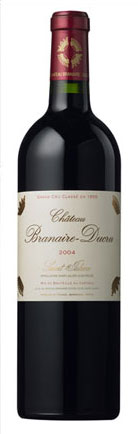 Chateau Branaire-Ducru wine bottle shot