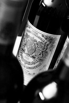 Château Pichon-Longueville wine label