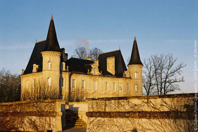 Château Pichon-Longueville, built in 1851