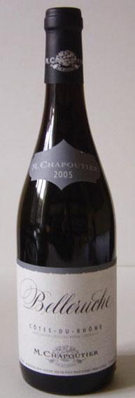 M. Chapoutier Belleruche Cotes du Rhone 2005, France