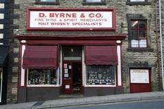 D.Byrne Finewines entrance, UK